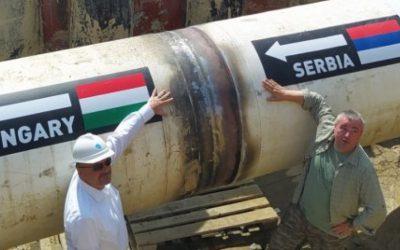 Србија и Унгарија ги поврзаа цевководите за продолжување на Турски тек
