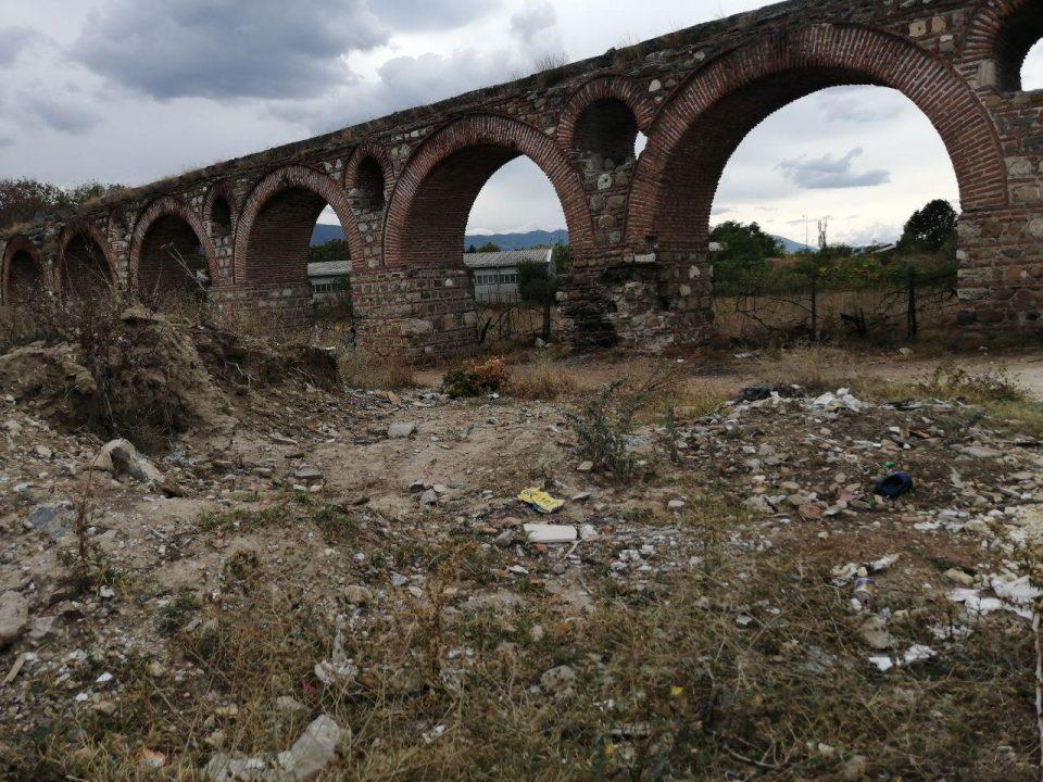 Скопскиот аквадукт се распаѓа, СДСМ целосно заборави на ветувањата за реконструкција и уредување
