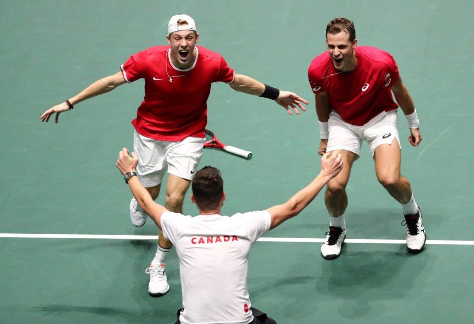 Канада е првиот полуфиналист на завршниот турнир од тенискиот Дејвис куп