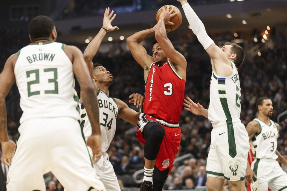 Mилвоки го победи Портланд и го презеде врвот од источната конференција во НБА