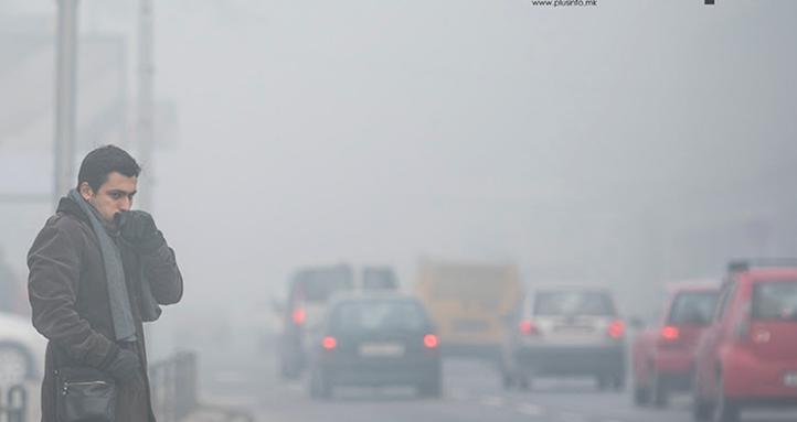 МАКЕДОНИЈА СЕ ТРУЕ: Воздухот е загаден и 6 пати над дозволеното