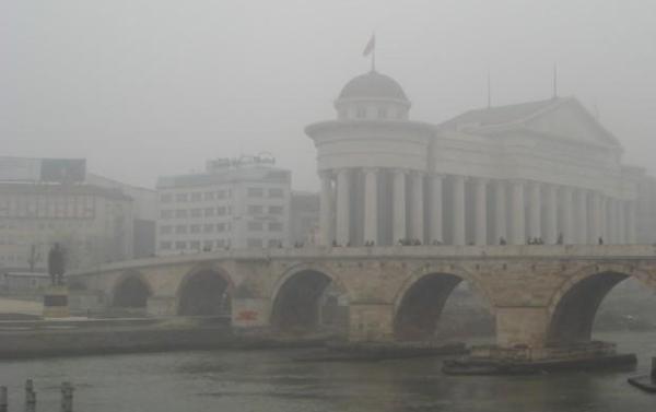 Скопје денеска е трет најзагаден град во светот