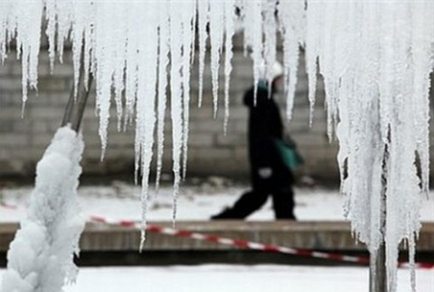 Утринските температури под нулата, во Берово минус осум, во Скопје минус пет