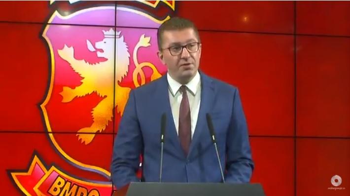 Мицкоски предлага политичари да не можат да се аболицираат и собранието да гласа за НАТО пред да се распушти
