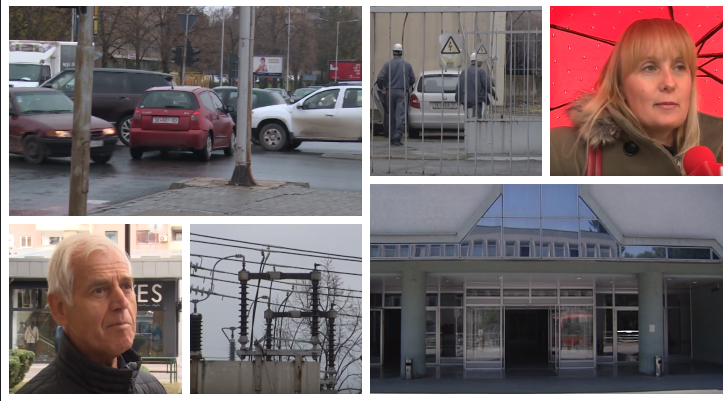 Хаос во метрополата- дефект го остави пола Скопје без струја
