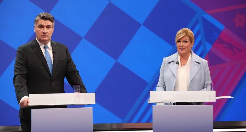 Вечерва последниот ТВ дуел Милановиќ – Грабар Китаровиќ, од утре изборен молк