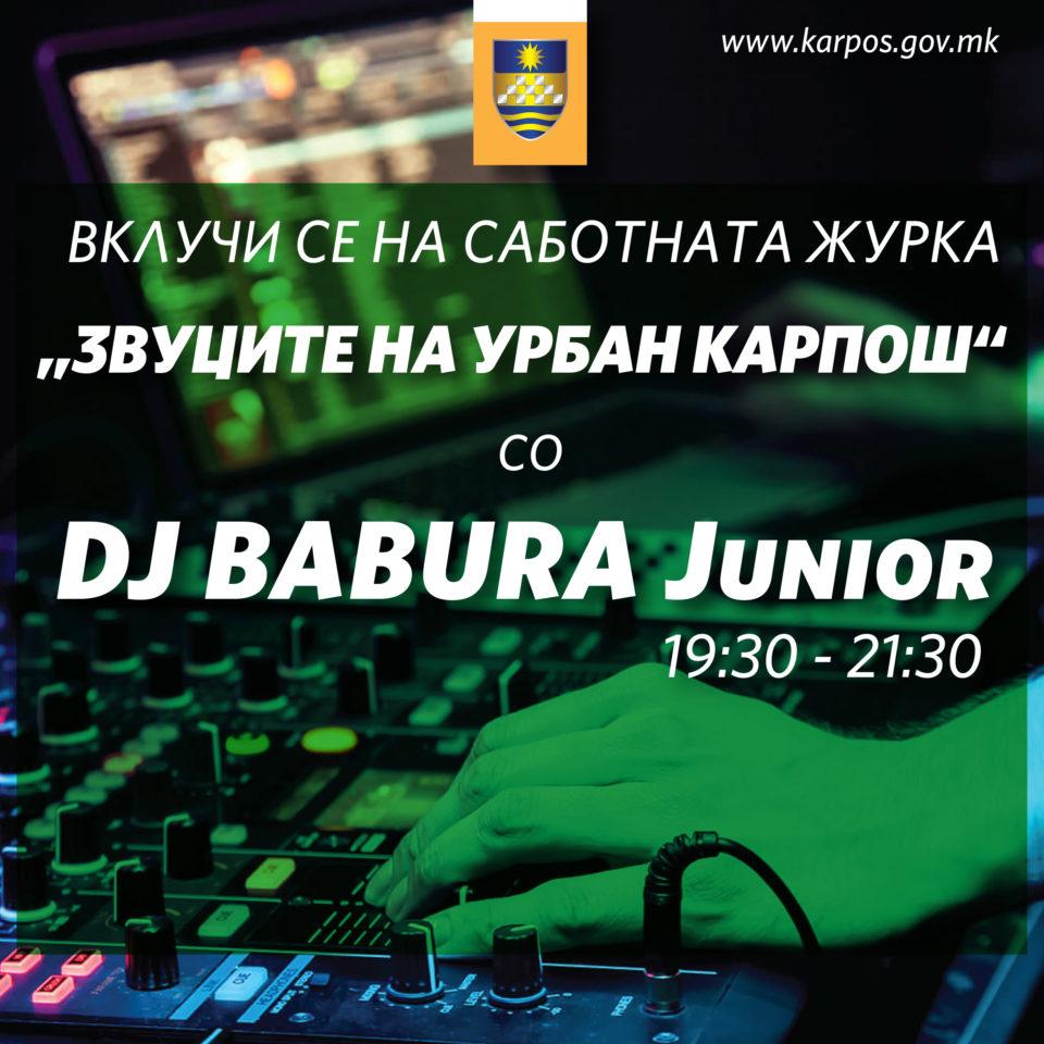 Вечерна диско забава во Карпош со DJ BABURA JUNIOR
