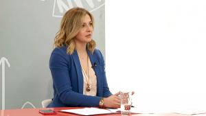 Ангеловска тврди дека мерката 14.500 денари плата по вработен можат да ги искористат сите фирми погодени од коронакризата, како и самостојните вршители на дејност