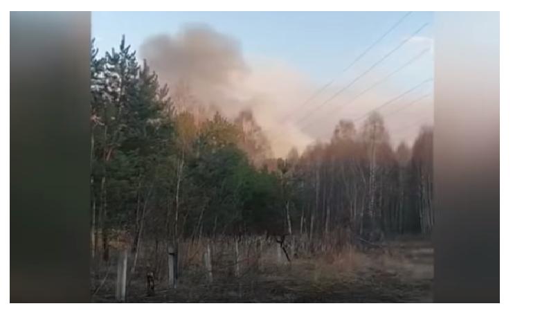Поради шумски пожар близу Чернобил, регистрирана зголемена радиоактивност