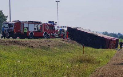Трагедија во Хрватска – 10 загинати и 45 повредени во превртен косовски автобус