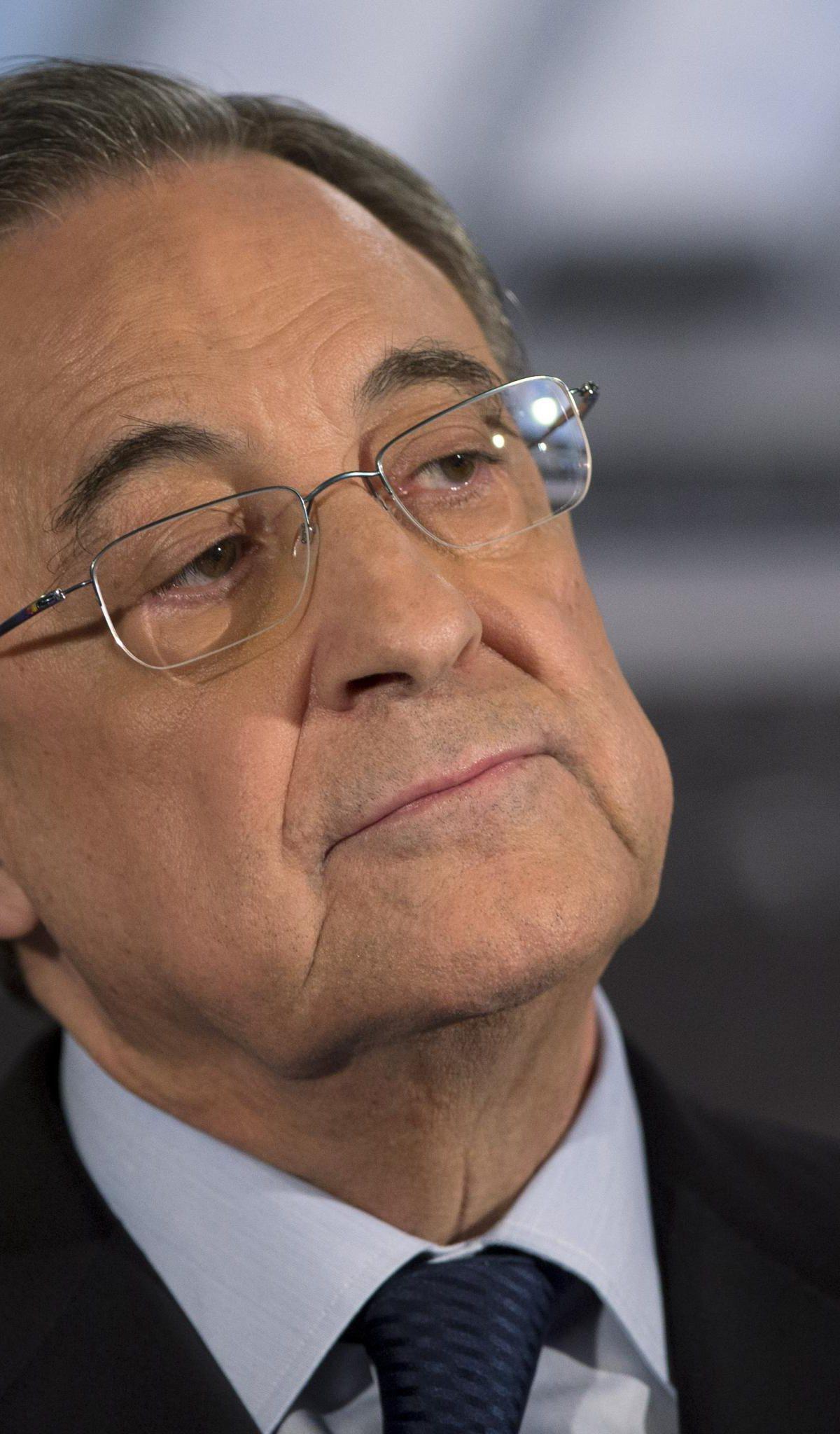 Супер лигата ќе го спаси фудбалот, порача Перез