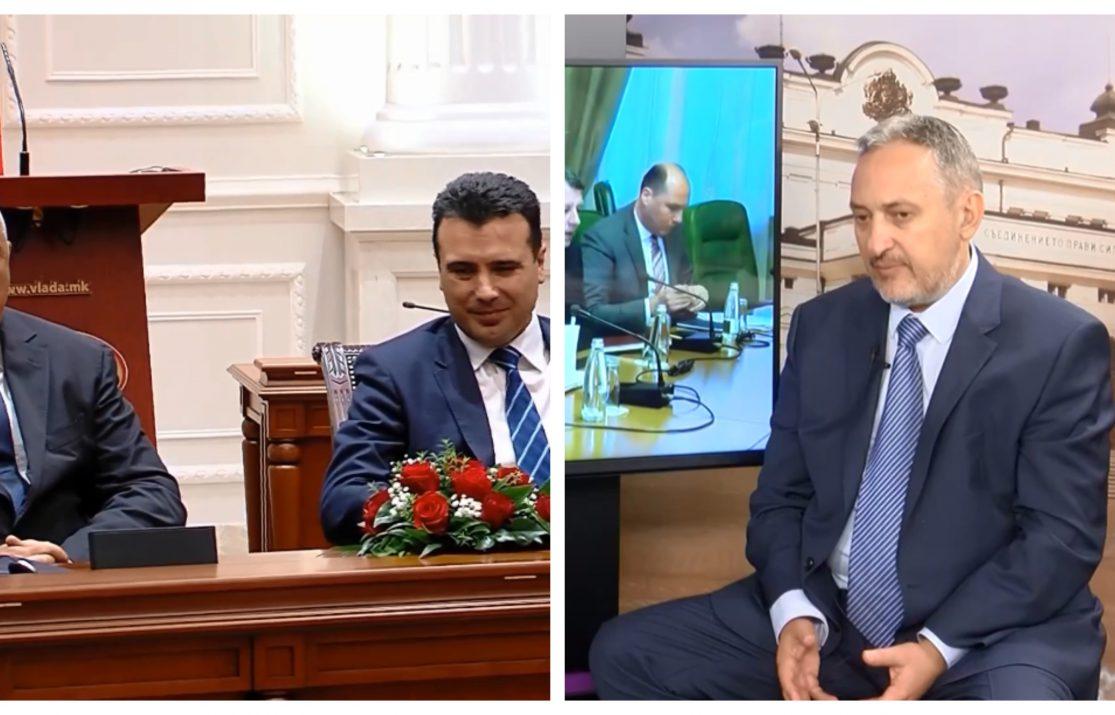 """Георгиевски """"солира"""" или Заев преку него пушта пробен балнот за прифаќање на бугарските уцени?"""